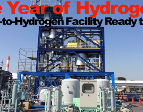 Waste-to-Hydrogen Tokyo Facility Ready to Rock – Is 2021 the Year of Hydrogen?